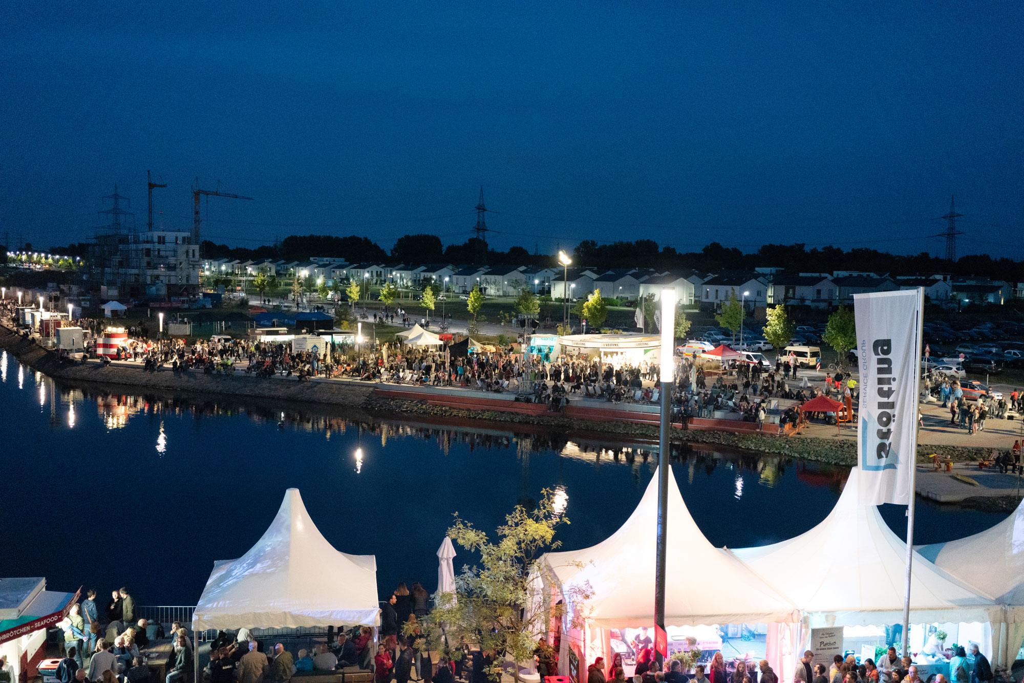 Hafenfest 2018 auf Graf Bismarck