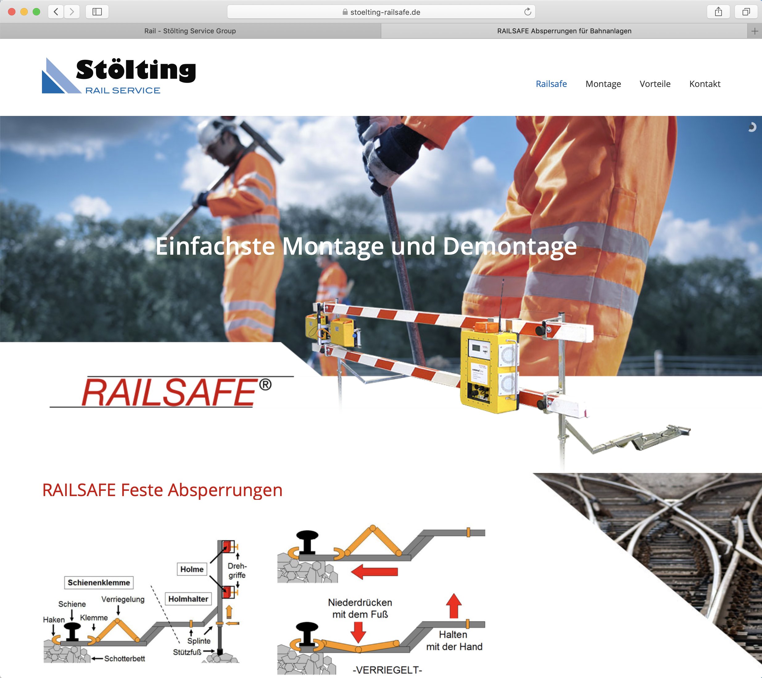 Stoelting Railsafe