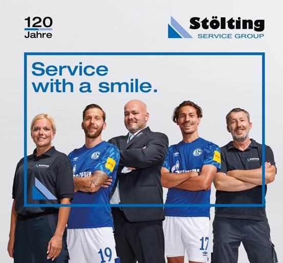 Partnerschaft zwischen der Stölting Service Group und dem FC Schalke 04 wird intensiviert